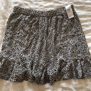 America eagle leopard skirt medium new with tags